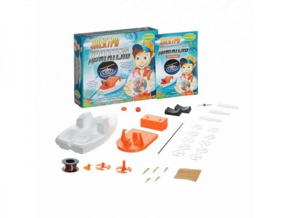 Купить Набор Bondibon Французские опыты Науки с Буки -Электродвигатель в интернет магазине игрушек и детских товаров