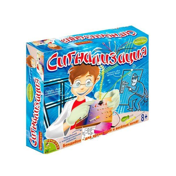 Купить Набор Bondibon Французские опыты Науки с Буки -Сигнализация в интернет магазине игрушек и детских товаров