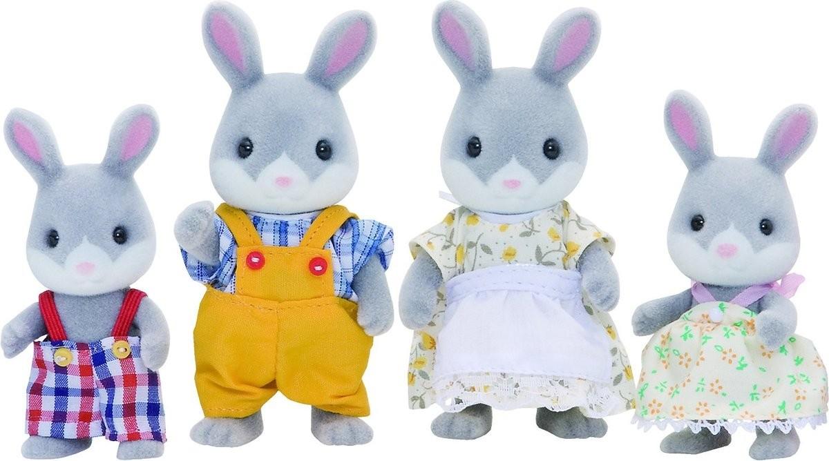 Игровой набор Sylvanian Families 3134 Семья серых кроликов