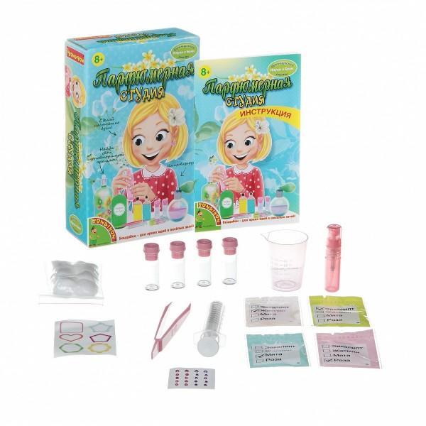 Купить Набор Bondibon Французские опыты Науки с Буки - Парфюмерная студия в интернет магазине игрушек и детских товаров