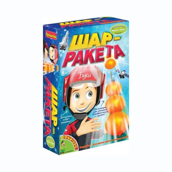 Купить Набор Bondibon Французские опыты Науки с Буки - Шар-ракета в интернет магазине игрушек и детских товаров