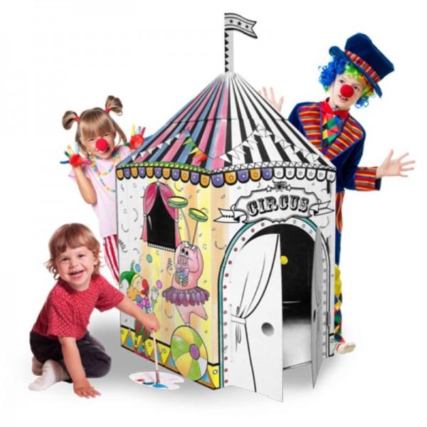 Купить Картонный домик CartonHouse Цирк в интернет магазине игрушек и детских товаров