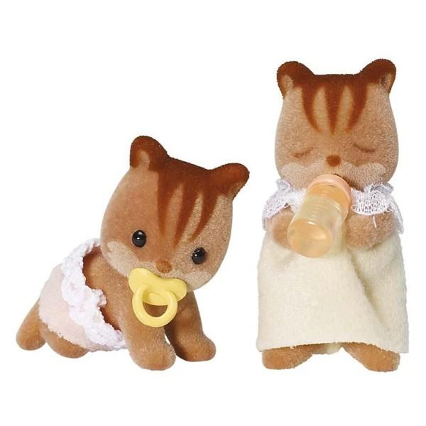 Купить Игровой набор Sylvanian Families Бельчата-двойняшки в интернет магазине игрушек и детских товаров