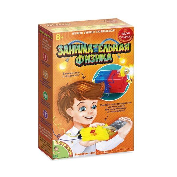 Купить Набор Bondibon Японские опыты Науки с Буки - Занимательная физика в интернет магазине игрушек и детских товаров