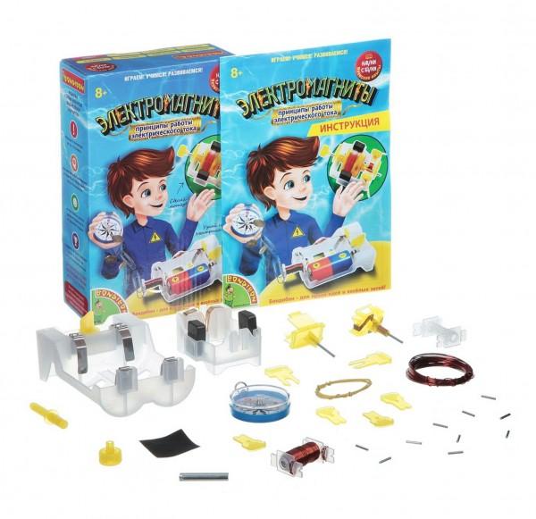 Купить Набор Bondibon Японские опыты Науки с Буки - Электромагниты в интернет магазине игрушек и детских товаров