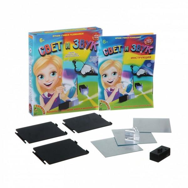 Купить Набор Bondibon Японские опыты Науки с Буки - Свет и звук в интернет магазине игрушек и детских товаров