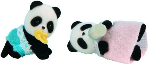 Купить Игровой набор Sylvanian Families Панды-двойняшки в интернет магазине игрушек и детских товаров