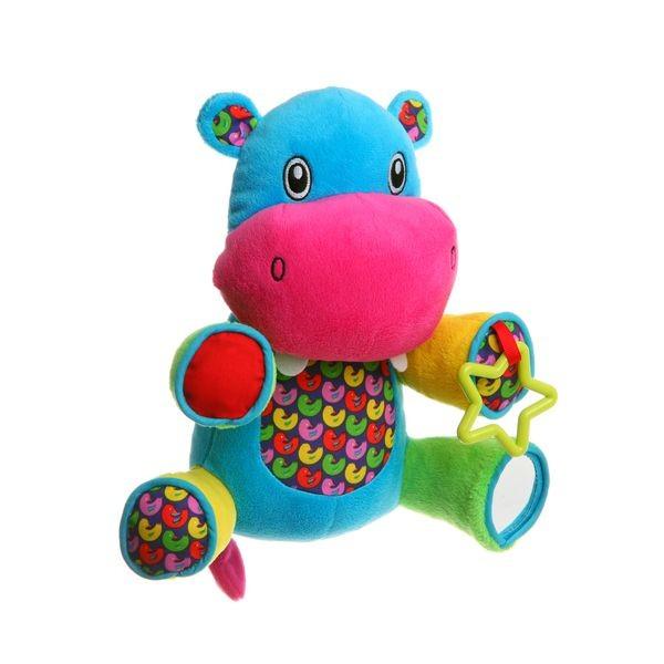 Развивающая мягкая игрушка Bondibon Бегемот
