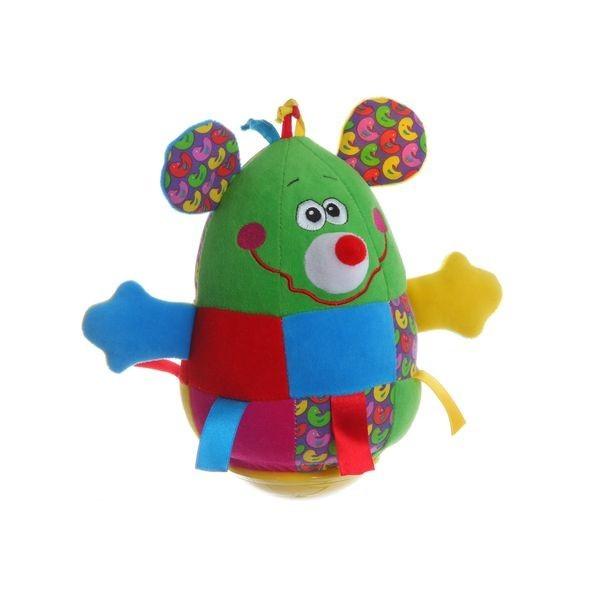 Развивающая мягкая игрушка Bondibon ВВ1283 Неваляшка Мышь