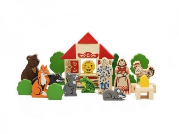 Купить Конструктор Томик Первые сказки 3 в 1 в интернет магазине игрушек и детских товаров