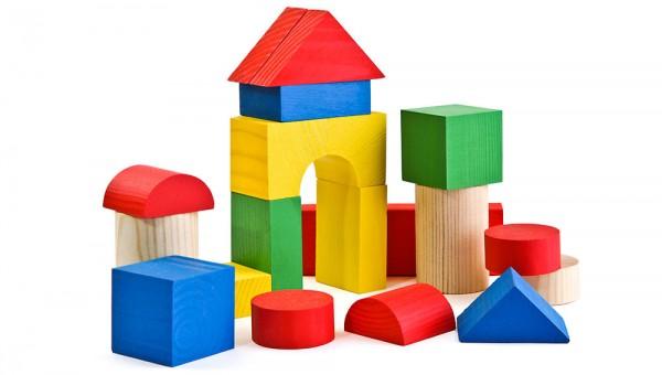 Купить Конструктор Томик Цветной - 26 деталей в интернет магазине игрушек и детских товаров