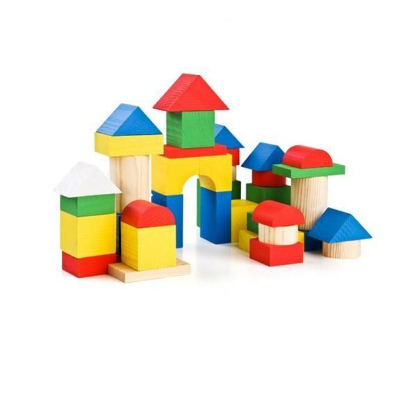 Купить Конструктор Томик Цветной - 43 детали в интернет магазине игрушек и детских товаров