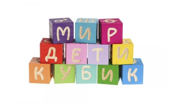 Кубики Томик 1111-4 Веселая азбука