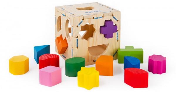 Развивающая игрушка-сортер Томик 967 Геометрические фигуры