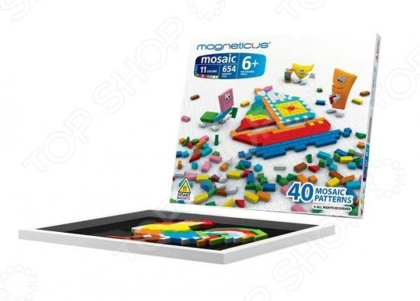 Купить Мозаика магнитная Magneticus - 654 детали в интернет магазине игрушек и детских товаров