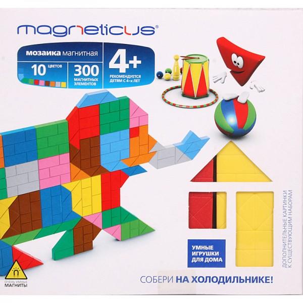 Купить Мозаика магнитная Magneticus Слон - 300 деталей в интернет магазине игрушек и детских товаров