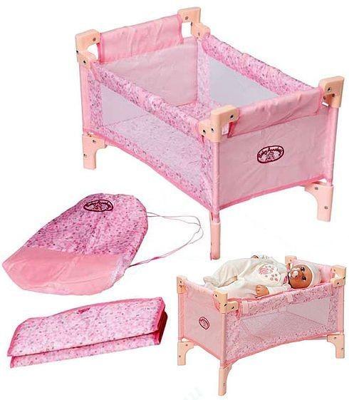 Купить Кроватка Baby Annabell 2 в 1 (Zapf Creation) в интернет магазине игрушек и детских товаров