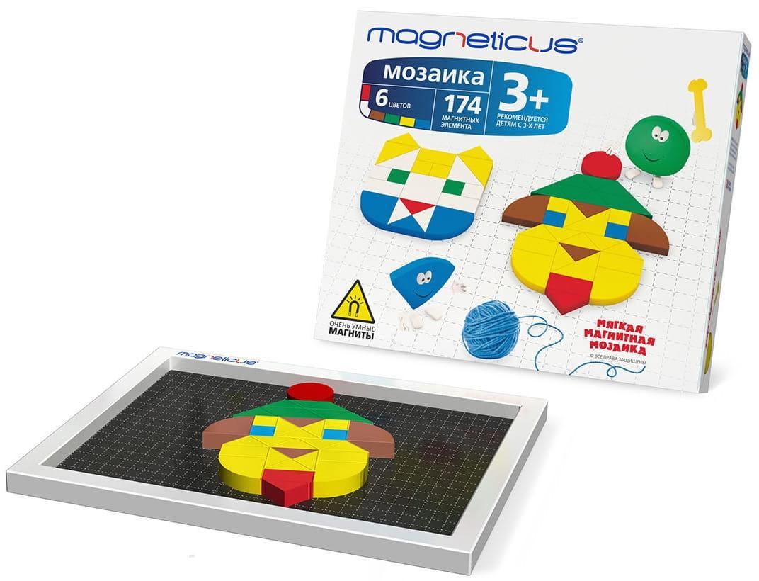 Магнитная мозаика MAGNETICUS - 174 детали