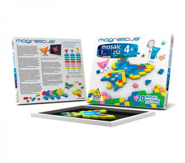 Купить Мозаика магнитная Magneticus - 252 детали в интернет магазине игрушек и детских товаров