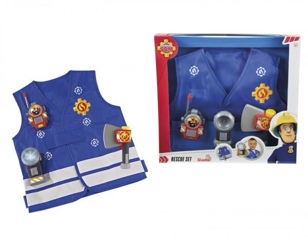 Жилет с аксессуарами Fireman Sam 9250745 Пожарный Сэм (Simba)