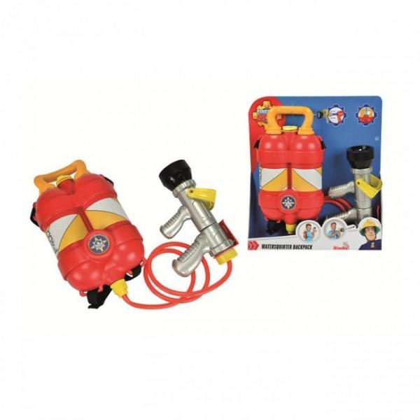 Игровой набор Fireman Sam Пожарный Сэм Водный пистолет с рюкзаком (Simba)