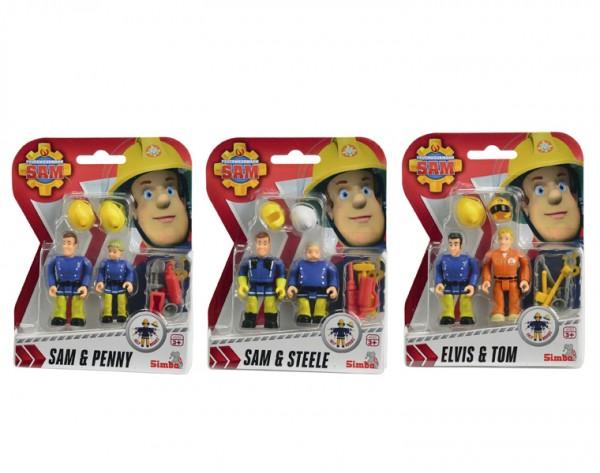 Игровой набор Fireman Sam Пожарный Сэм Фигурки пожарных (Simba)