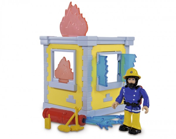 Игровой набор Fireman Sam Пожарный Сэм Тренировочная база (Simba)