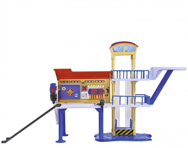 Игровой набор Fireman Sam Пожарный Сэм Морская станция со звуком и светом (Simba)