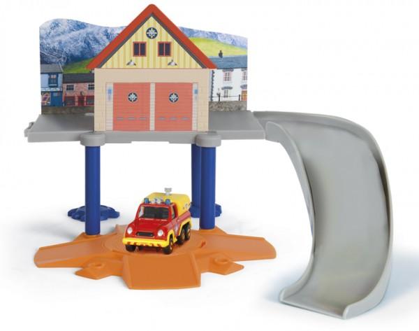 Купить Игровой набор Fireman Sam Пожарный Сэм Маленький пожарный гараж (Dickie) в интернет магазине игрушек и детских товаров