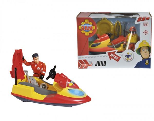 Купить Водный мотоцикл с фигуркой Fireman Sam Пожарный Сэм со светом (Dickie) в интернет магазине игрушек и детских товаров