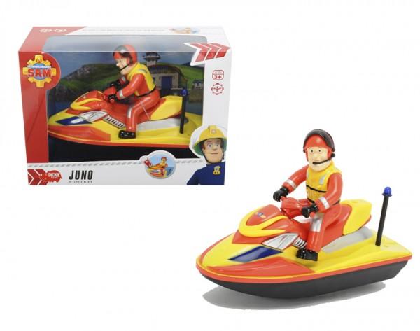Водный скутер с фигуркой Fireman Sam 3099624 Пожарный Сэм - 22 см (Dickie)