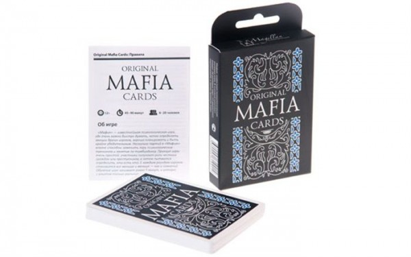 Купить Настольная игра Magellan Мафия в интернет магазине игрушек и детских товаров