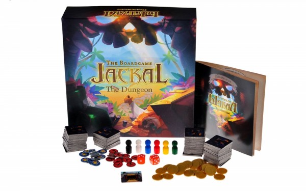 Настольная игра Magellan MAG02530 Шакал - Подземелье