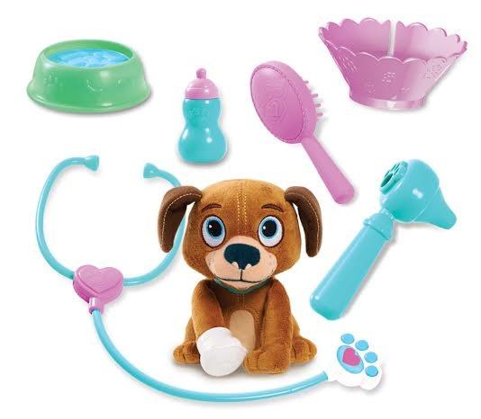 Купить Игровой набор Doctor Plusheva Доктор Плюшева Переноска с собачкой в интернет магазине игрушек и детских товаров