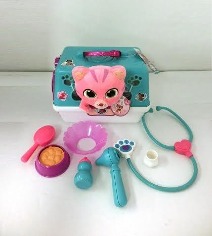 Купить Игровой набор Doctor Plusheva Доктор Плюшева Переноска с кошкой в интернет магазине игрушек и детских товаров