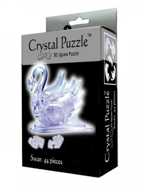 Купить Головоломка Crystal puzzle Лебедь в интернет магазине игрушек и детских товаров