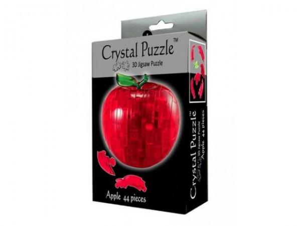 Купить Головоломка Crystal puzzle Красное яблоко в интернет магазине игрушек и детских товаров
