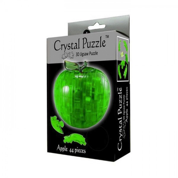 Головоломка Crystal puzzle Зеленое яблоко