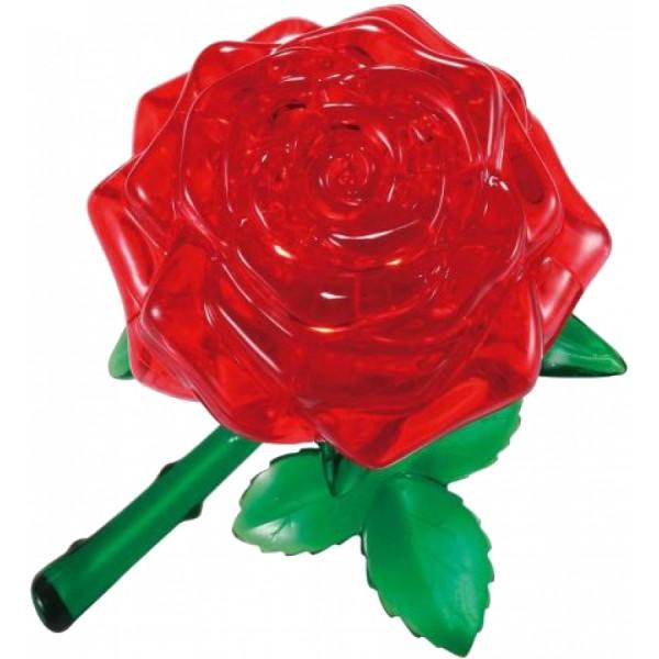 Головоломка Crystal puzzle Красная роза
