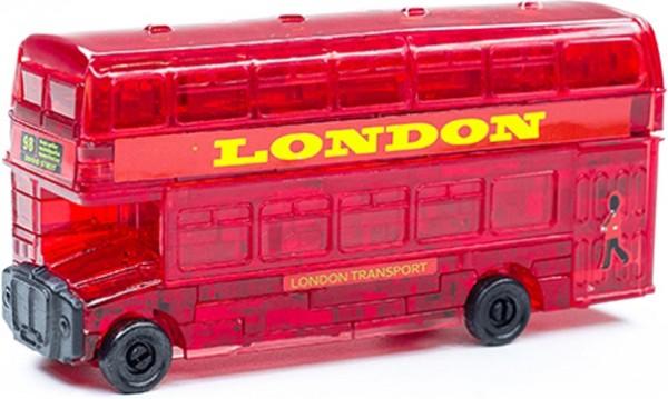 Головоломка Crystal puzzle Лондонский автобус