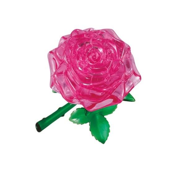 Головоломка Crystal puzzle Розовая роза
