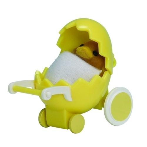 Купить Игровой набор Sylvanian Families Младенец в пластиковом сундучке (утенок в коляске) в интернет магазине игрушек и детских товаров