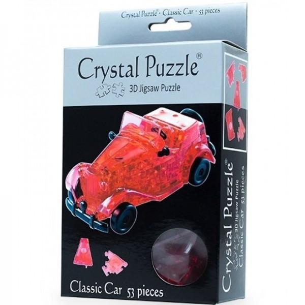 Головоломка Crystal puzzle Красный автомобиль
