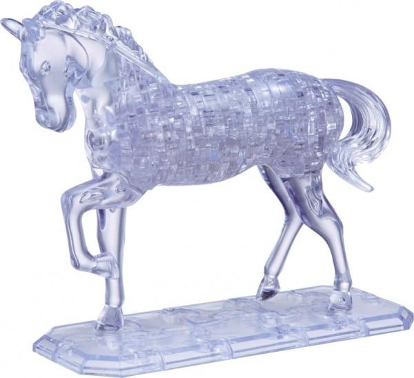 Головоломка Crystal puzzle Неоновая лошадь