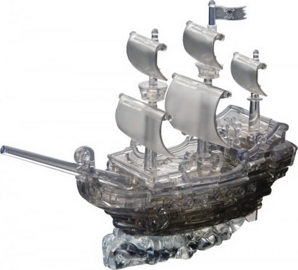 Купить Головоломка Crystal puzzle Пиратский корабль в интернет магазине игрушек и детских товаров