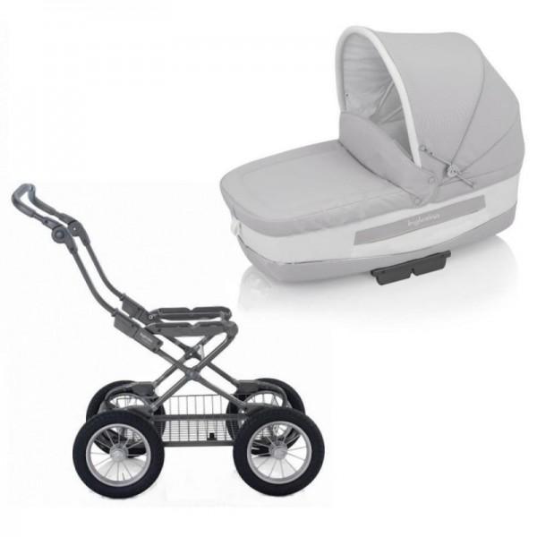 Купить Детская коляска Inglesina Trilogy Betulla на шасси Ergo Bike Slate в интернет магазине игрушек и детских товаров