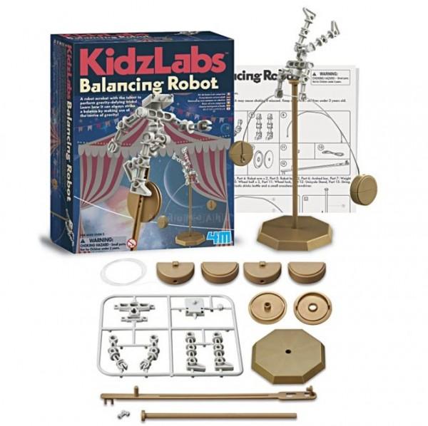 Купить Игровой набор 4M Робот акробат в интернет магазине игрушек и детских товаров