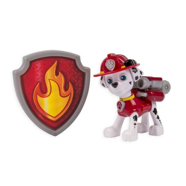 Купить Фигурка Paw Patrol Щенячий патруль Маршал с рюкзаком-трансформером в интернет магазине игрушек и детских товаров