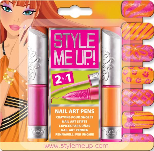Купить Набор для творчества Style Me Up Маникюр розовый и оранжевый 2 в 1 в интернет магазине игрушек и детских товаров