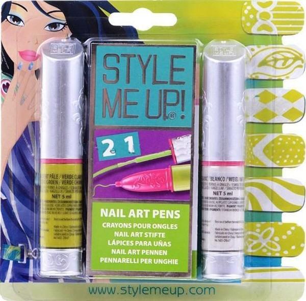 Купить Набор для творчества Style Me Up Маникюр салатовый и белый 2 в 1 в интернет магазине игрушек и детских товаров